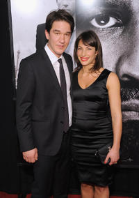 Director Daniel Espinosa and Guest at the New York premiere of