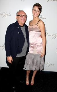 Max Azria and Joss Stone at the Max Azria 2008 fashion show during the Mercedes-Benz Fashion week Fall 2008.