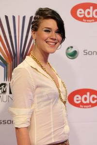 Joss Stone at the MTV Europe Music Awards 2007.
