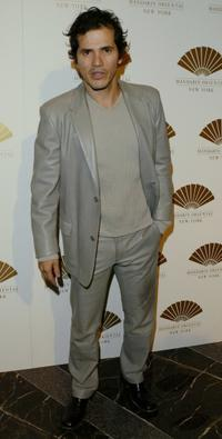 John Leguizamo at the gala opening of the Mandarin Oriental.