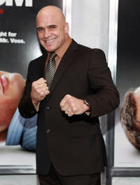 Bas Rutten at the New York premiere of
