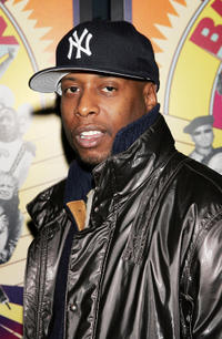Talib Kweli at the New York premiere of