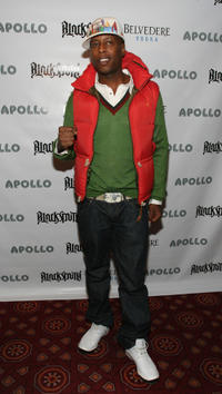 Talib Kweli at the Belvedere Vodka's Apollo Lounge party in New York.