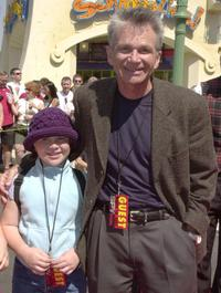 David Leisure and Madison at the premiere of