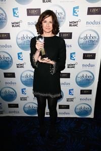 Valerie Lemercier at the Globes of Cristal Awards for Art and Culture.