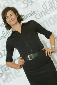 Valerie Lemercier at the 59th Venice Film Festival.