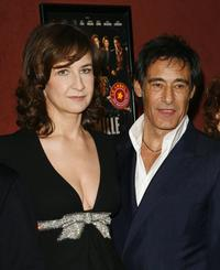 Valerie Lemercier and Gerard Lanvin at the premiere of
