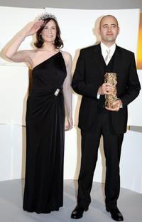 Valerie Lemercier and Director Laurent Tirard at the 30th Nuit des Cesar, France's top movie awards.
