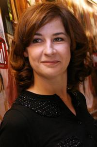 Valerie Lemercier at the presentation of