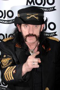 Lemmy at the Mojo Honours List 2008 Award Ceremony.