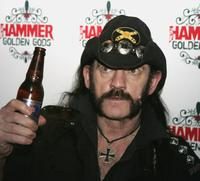 Lemmy at the Metal Hammer Golden Gods Awards.