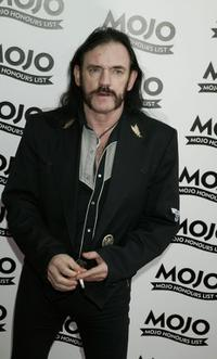 Lemmy at the Mojo Honours List Music Awards.