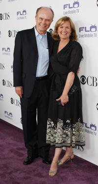 Kurtwood Smith and Nancy Lenehan at the CBS Comedies Season premiere Party.