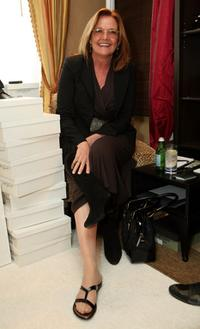 Nancy Lenehan at the HBO Luxury Lounge during the 66th Annual Golden Globes.