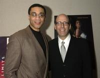 Harry J. Lennix and Matt Blank at the premiere of