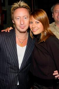 Julian Lennon and Juliet Rogulewski at his birthday party.