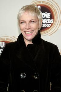Annie Lennox at the 2007 MTV U Woodie Awards.