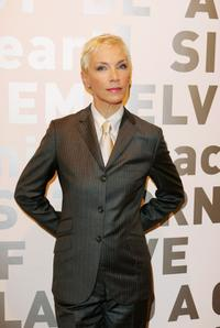 Annie Lennox at the Eurythmics Art & Design Exhibition.
