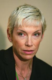 Annie Lennox at the 2005 G8 Summit.