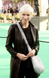 Annie Lennox at the London premiere of