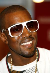Kanye West at the book signing of