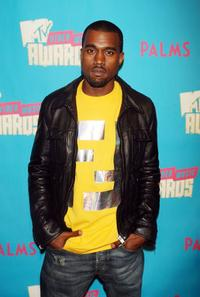 Kanye West at the special Video Music Awards nominee taping of MTV's Total Request Live.