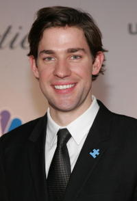 John Krasinski at the NBC/Universal Golden Globe After Party in Beverly Hills.