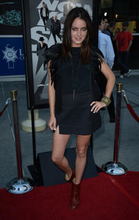 Justine Wachsberger at the California premiere of