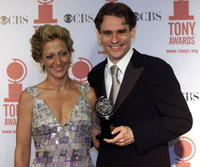 Robert Sean Leonard and Guest at the 2001 Tony Awards.