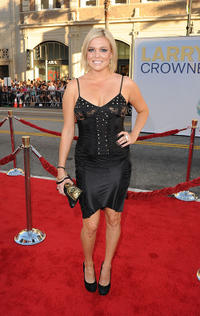 Carly Reeves at the California premiere of