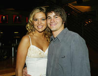 Carly Reeves and Jason Ritter at the after party of the California premiere of