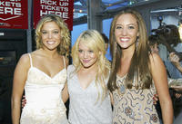 Carly Reeves, Hilary Duff and Lauren C. Mayhew at the after party of the California premiere of