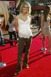Carly Reeves at the red carpet of the California premiere of