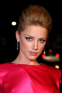 Actress Amber Heard at the Hollywood premiere of