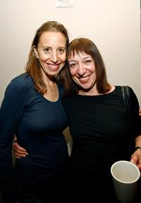 Caroline Baron and Marianne Leone at the women's filmmaker brunch during the 2007 Tribeca Film Festival.