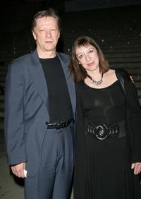 Chris Cooper and his wife Marianne Leone at the Vanity Fair 2007 Tribeca Film Festival party.