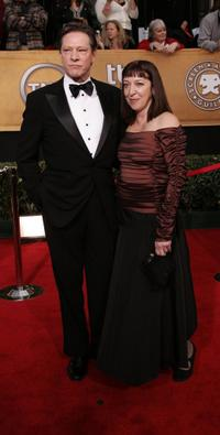 Chris Cooper and his wife Marianne Leone at the 12th Annual Screen Actors Guild Awards.