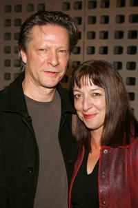 Chris Cooper and his wife Marianne Leone at the premiere of