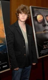 Jacob Davich at the screening of