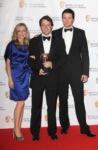 Sarah Alexandra, David Mitchell and Richard Armitage at the BAFTA Television Awards 2009 in London.