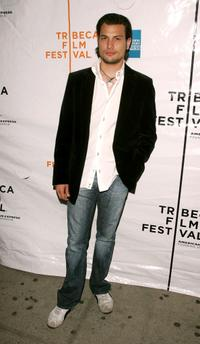 Roberto Urbina at the premiere of