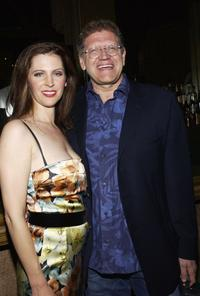 Leslie Zemeckis and her husband Director Robert Zemeckis at the opening night of
