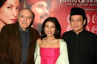 Len Lesser, Tiara Jacqueline and Director Saw Teong Hin at the screening of