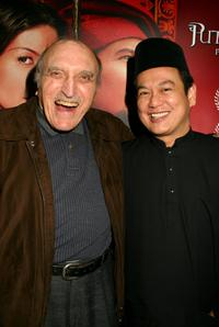 Len Lesser and Director Saw Teong Hin at the screening of