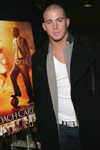 Channing Tatum at the screening of
