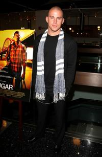 Channing Tatum at the Los Angeles premiere of