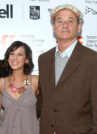 Lori Beth Edgeman and Bill Murray at the screening of