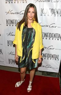 Tiffany DuPont at the Kenneth Cole Celebrates The Awearness Fund event.