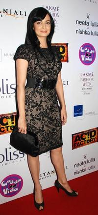 Diya Mirza at the party of
