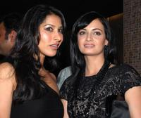 Sophie Chaudhary and Diya Mirza at the party of